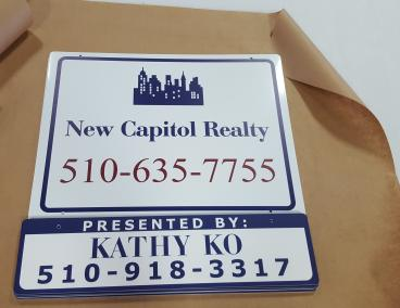 New Capitol Realty sign