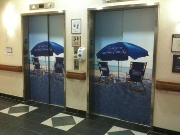 1 Elevator Wrap 18 Signs and Graphics