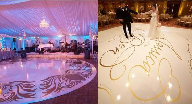 10 Floor Graphics Wedding