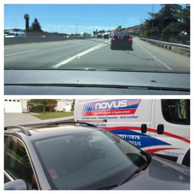 Before & After Windshield Replacement
