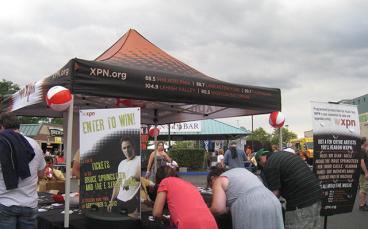 Event Tent - WXPN