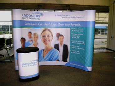 10' x 8' Pop-Up Trade Show Display
