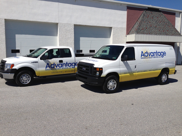 Full Vehicle Wraps - E-250 and F-150