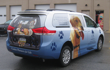 Full Vehicle Wrap Toyota Sienna