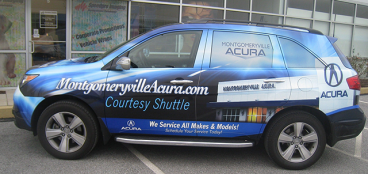Full Vehicle Wrap - Acura MDX