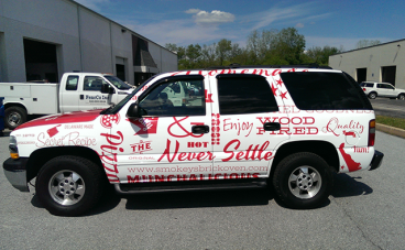 Full Vehicle Wrap - Chevy SUV
