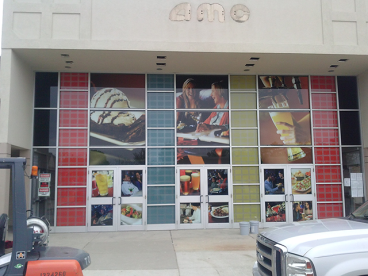 2nd Surface Window Graphics - AMC Theaters Chadds Ford