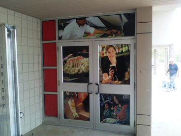2nd Surface Window Vinyl - AMC Theaters Chadds Ford