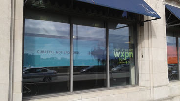 Custom Window Graphics - WXPN