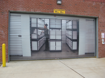 Garage Door Wrap