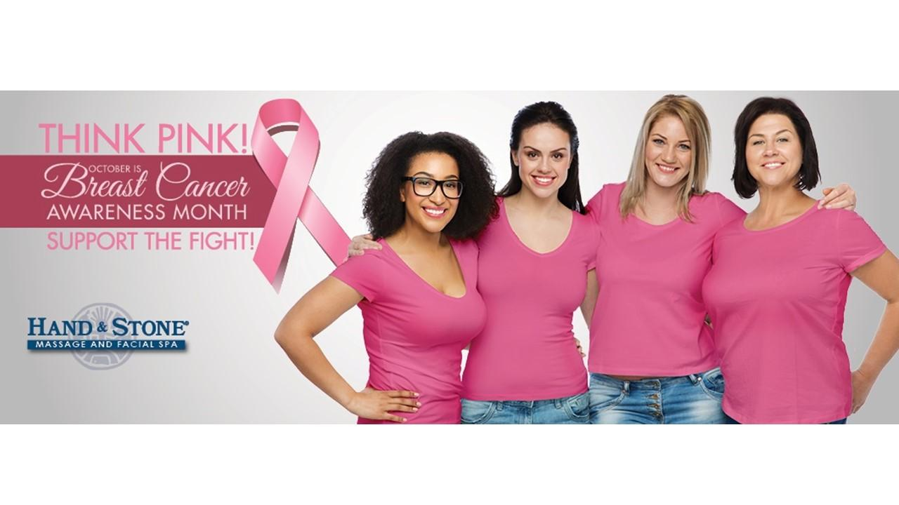 Think Pink!  Breast Cancer Awareness Month!  We support!