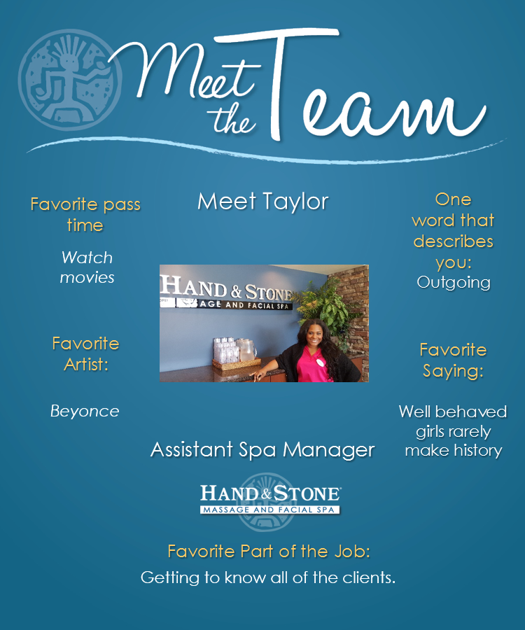 Meet Our Assistant Manager-Taylor Sharp