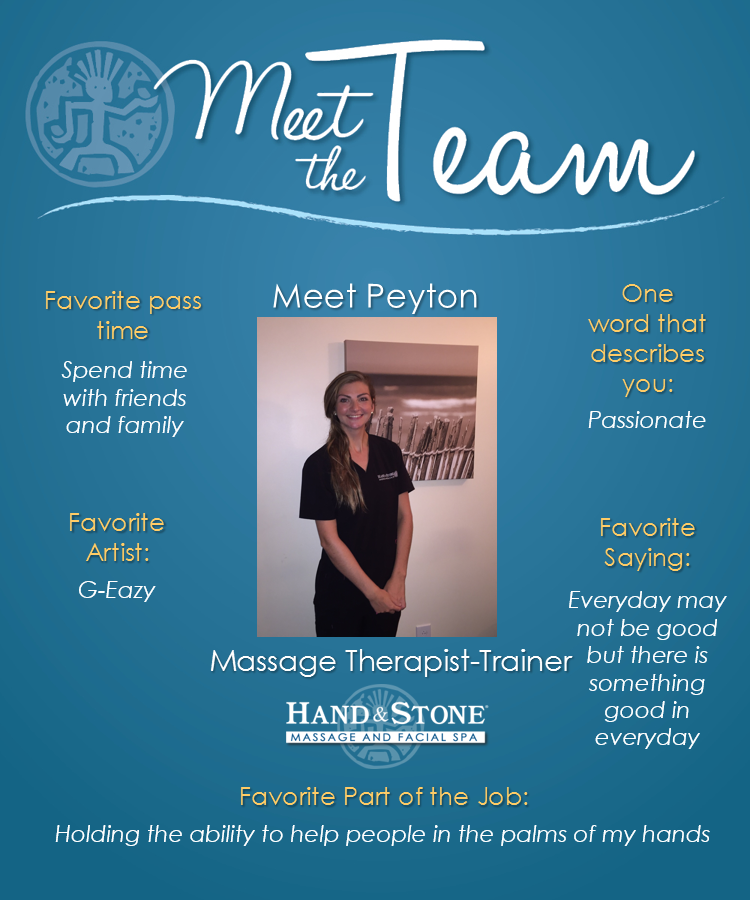 Meet Our Licensed Lead Massage Therapist and Trainer-Jessica Peyton Manis