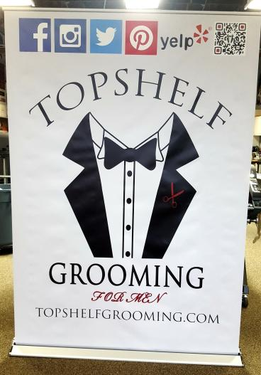 Top Shelf Grooming Retractable