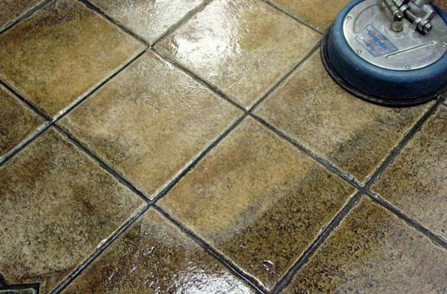 Tile and hard surface cleaning