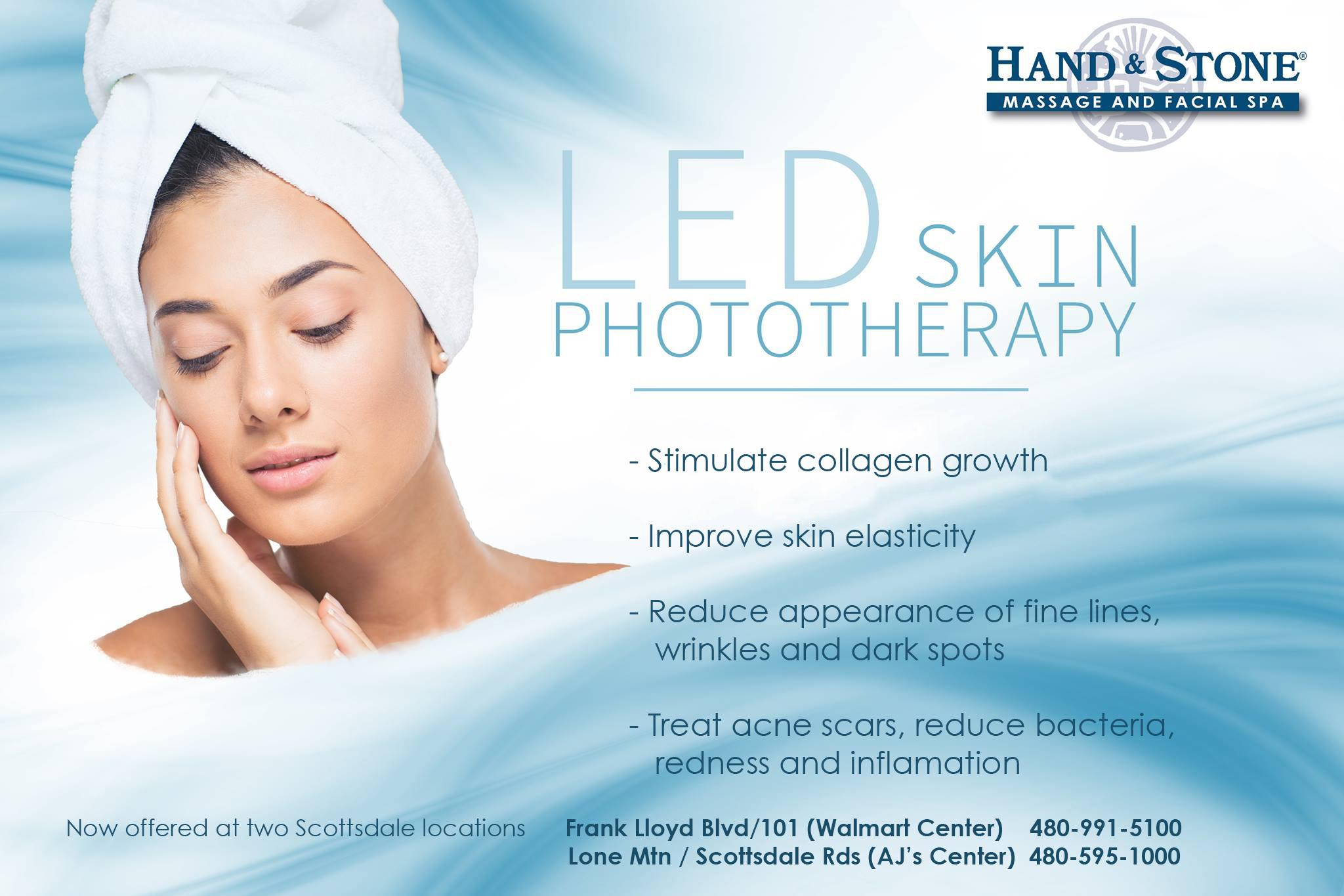 NEW - LED Skin Phototherapy