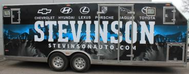 Stevinson Large Trailer wrap Denver, CO