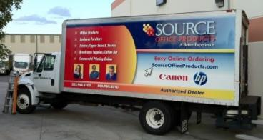 Source Office Large Cab Wrap Denver, CO