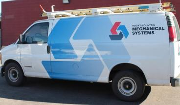fleet wrap Rocky Mountain Mechanical Systems Denver, CO