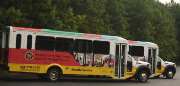 Atlanta University Center, Robert W. Woodruff Library Shuttle buses