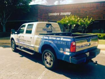 PGRS Roofing Fleet Vehicle