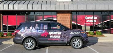 SpeedPro Imaging Car Wrap