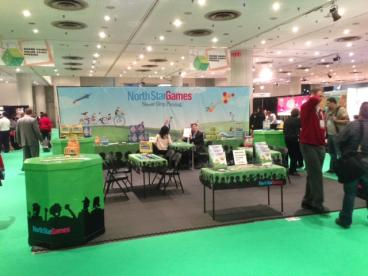 North Star Games Trade Show Booth