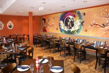 Wall Mural for Diego Restaurant on 14th St