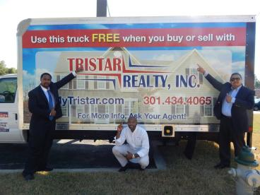 Box Truck Wrap for Tristar Realty