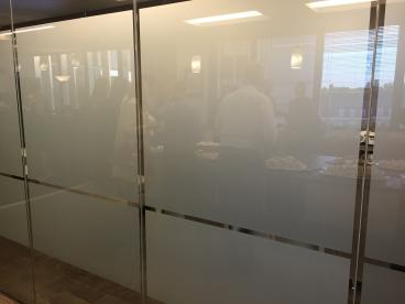 Frosted Vinyl Conference Room Windows