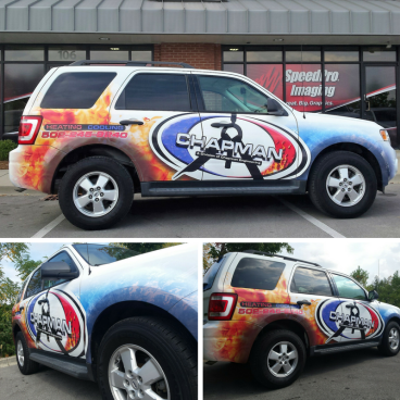 Chapman Heating & Cooling Ford Escape Wrap