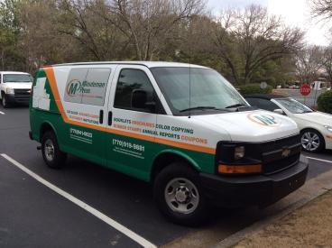 Branded Van