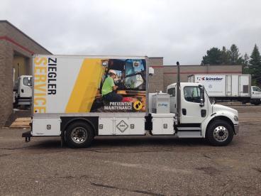 Ziegler Cat Fleet Vehicle - Minneapolis, St. Paul