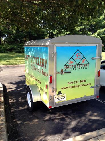 Vehicle Wrap, trailer wrap in Pennington, NJ