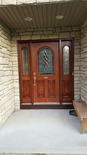 Door Staining in Westerville