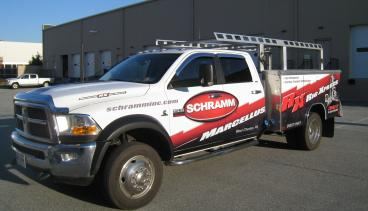Partial Wrap for Schramm