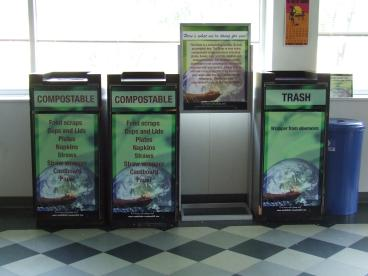 Trash Receptacle Wraps