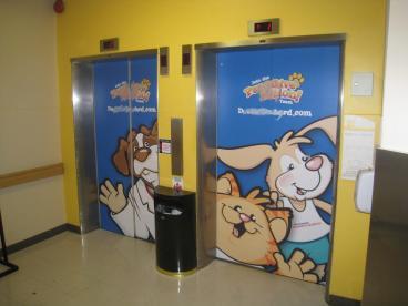 Elevator Door Wraps