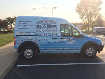 Full Vehicle Wrap in Dayton Ohio for a water treatment company