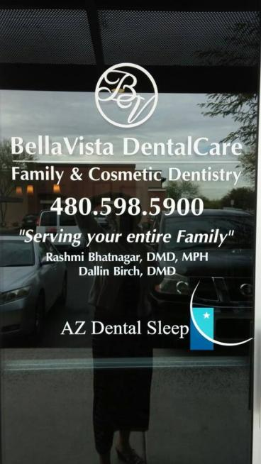 BellaVista Window Graphic