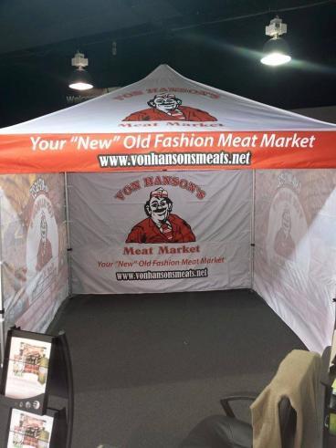 Von Hanson's Meat Market Canopy