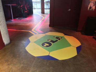 Floor Graphics - San Francisco Bay Area