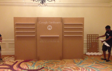 Cardboard Event Display - San Francisco Bay Area