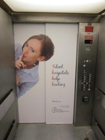 Elevator Wraps for Hospitals - San Francisco Bay Area