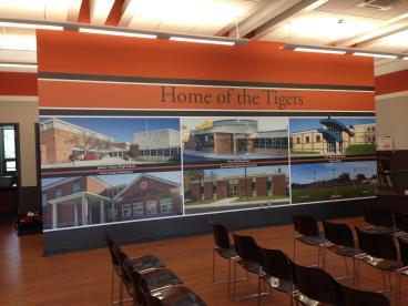 Sharon City Schools Board Room Mural