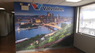 Valvoline Impact Mural