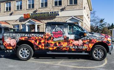 BBQ Truck Wrap