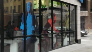 Window Graphics in Downtown Chicago!