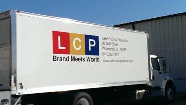 Trucks need branding too!