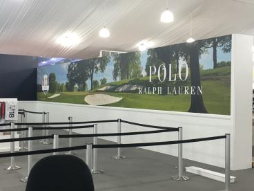 Large Wall Mural From the Ryder Cup Merchandising Tent Minneapolis
